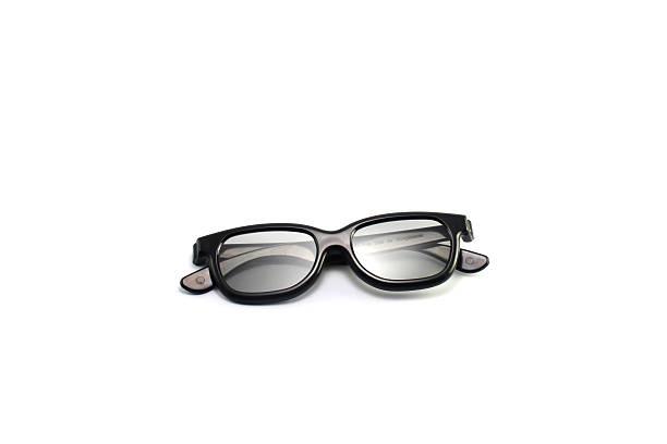 Modern 3D Glasses stock photo