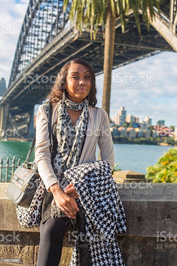 Modern Aboriginal Woman royalty-free stock photo