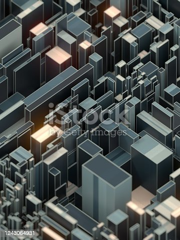 926309126 istock photo Modern abstract banner futuristic backdrop. Abstract 3d rendering illustration 1243064931
