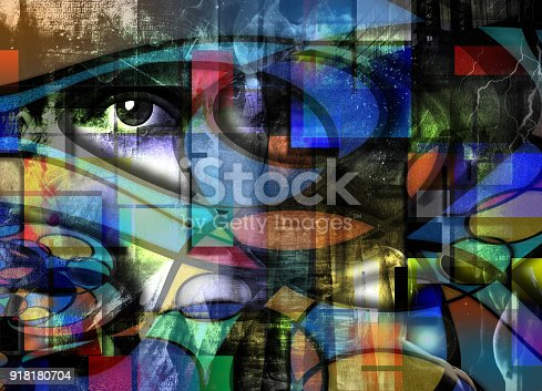 istock Modern Abstract 918180704