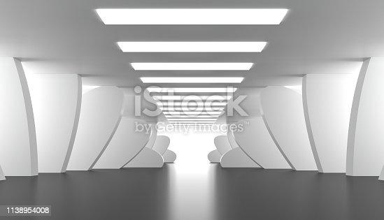 639291528 istock photo Modern abstract room 1138954008