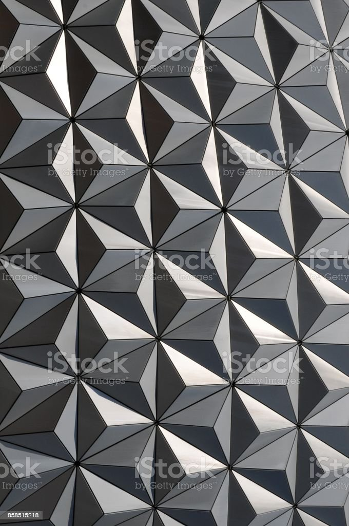 Modern abstract with three dimensional effect. stock photo