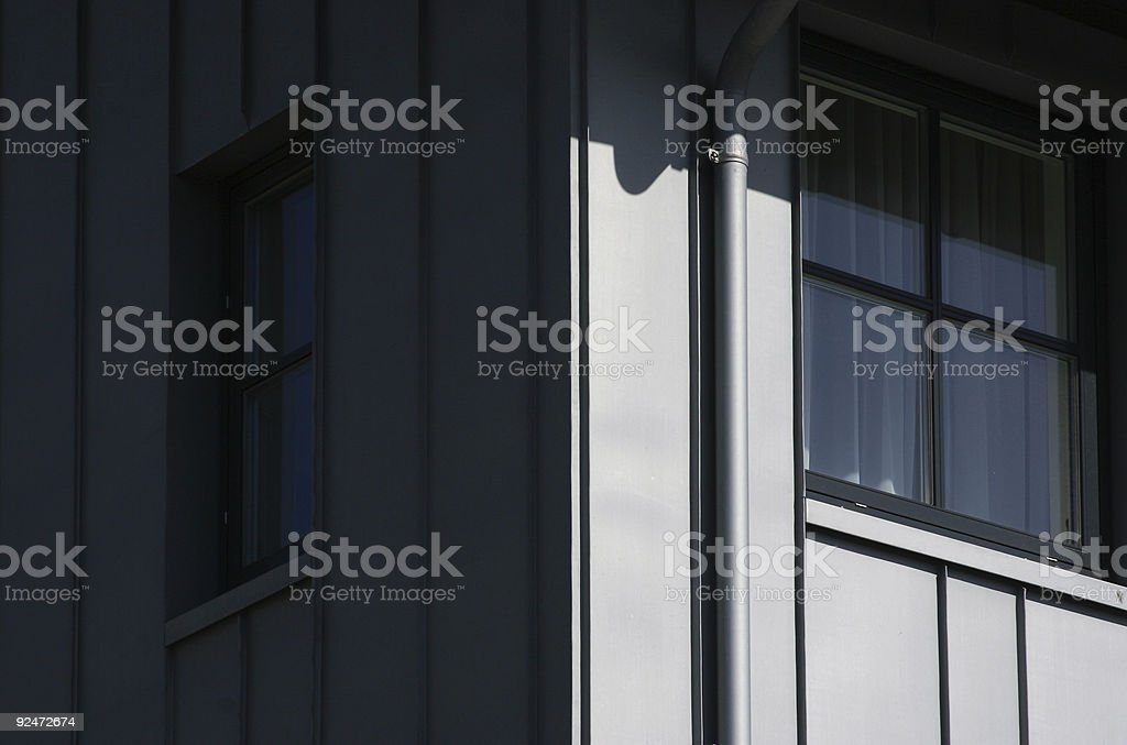Modern accommodation royalty-free stock photo