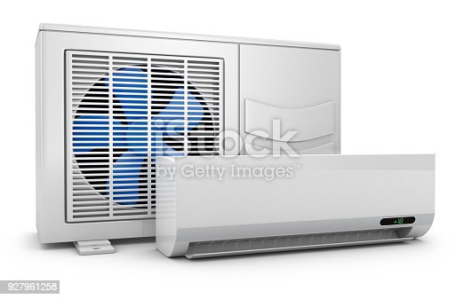 istock Modern air conditioning 927961258