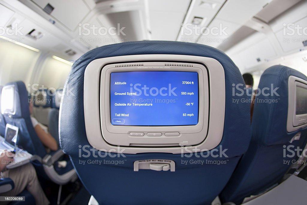 modern airplane royalty-free stock photo