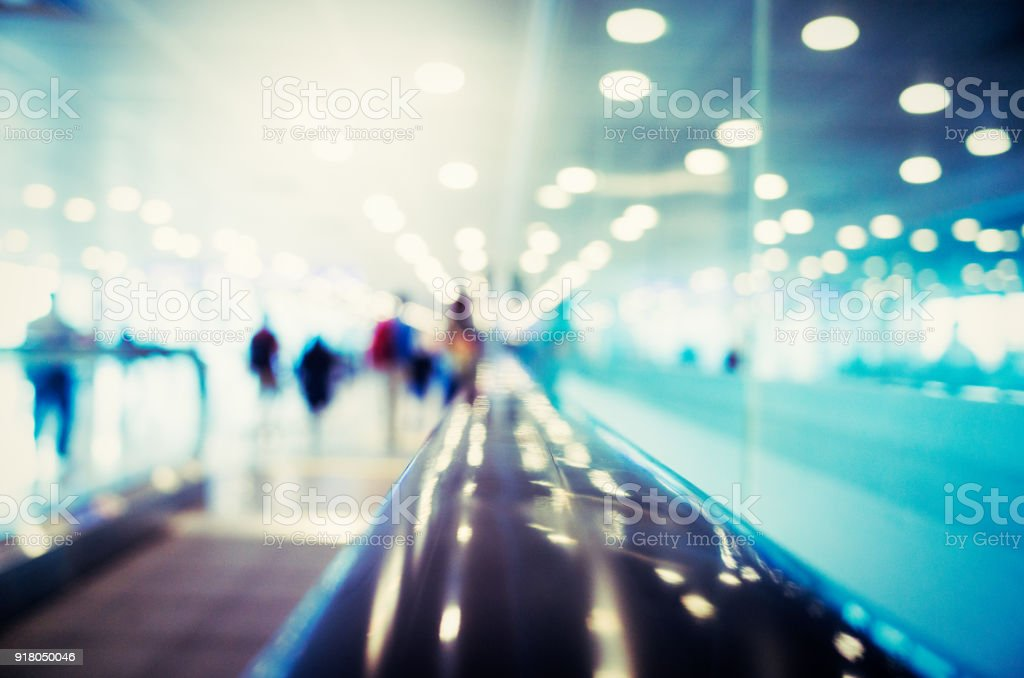 Modern Airport Abstract Background Image stock photo