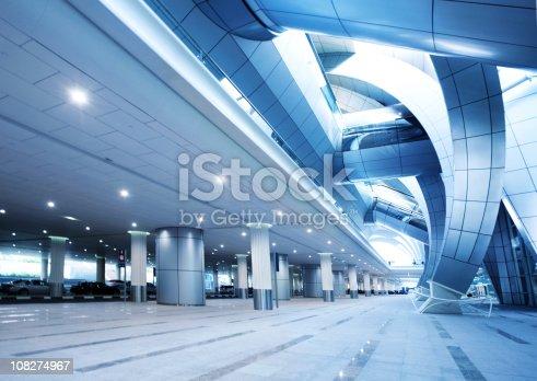 istock Modern Airport Architecture 108274967
