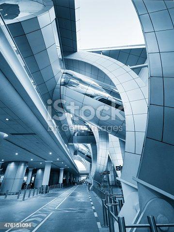 istock Modern Airport Architecture 476151094