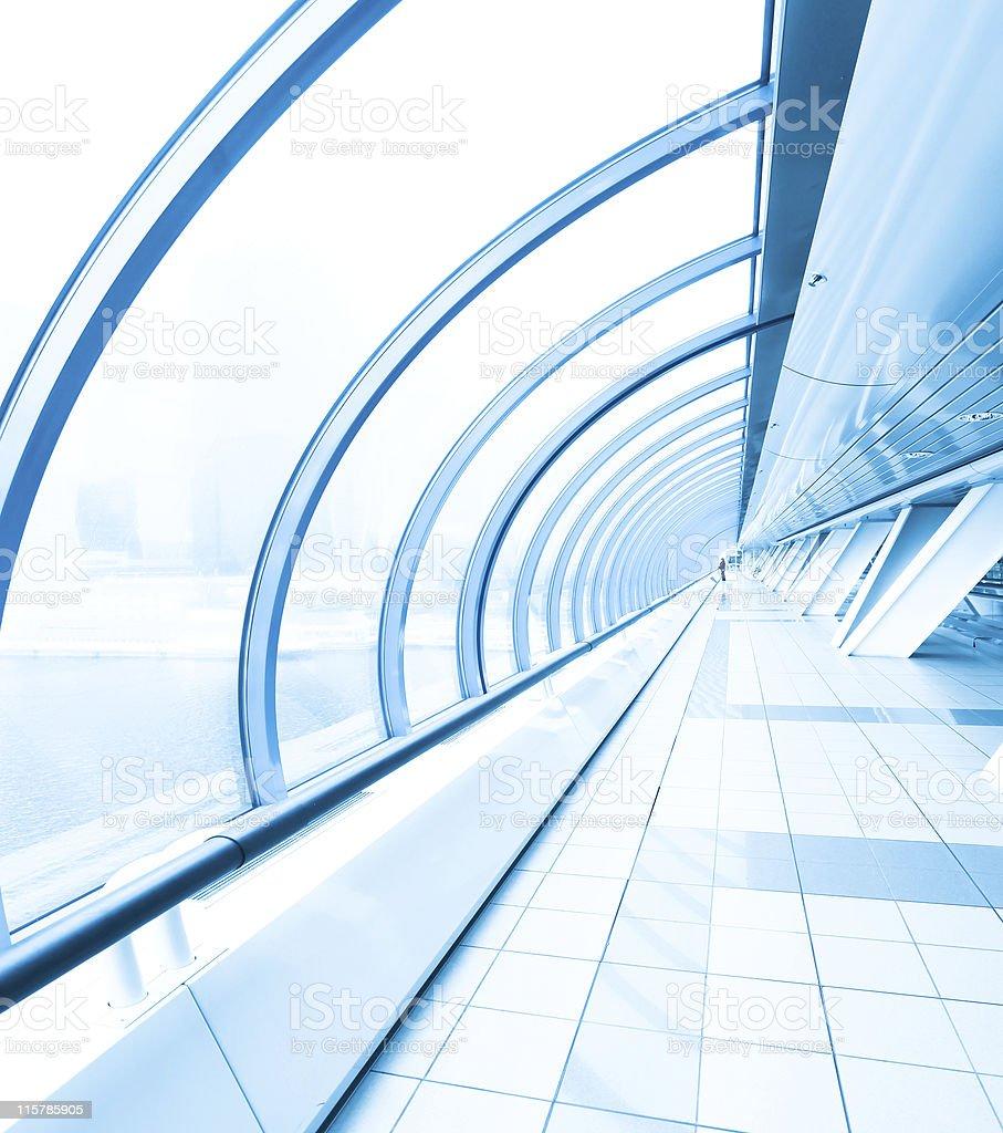 modern airport interior royalty-free stock photo