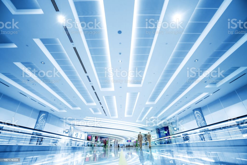Modern Airport stock photo