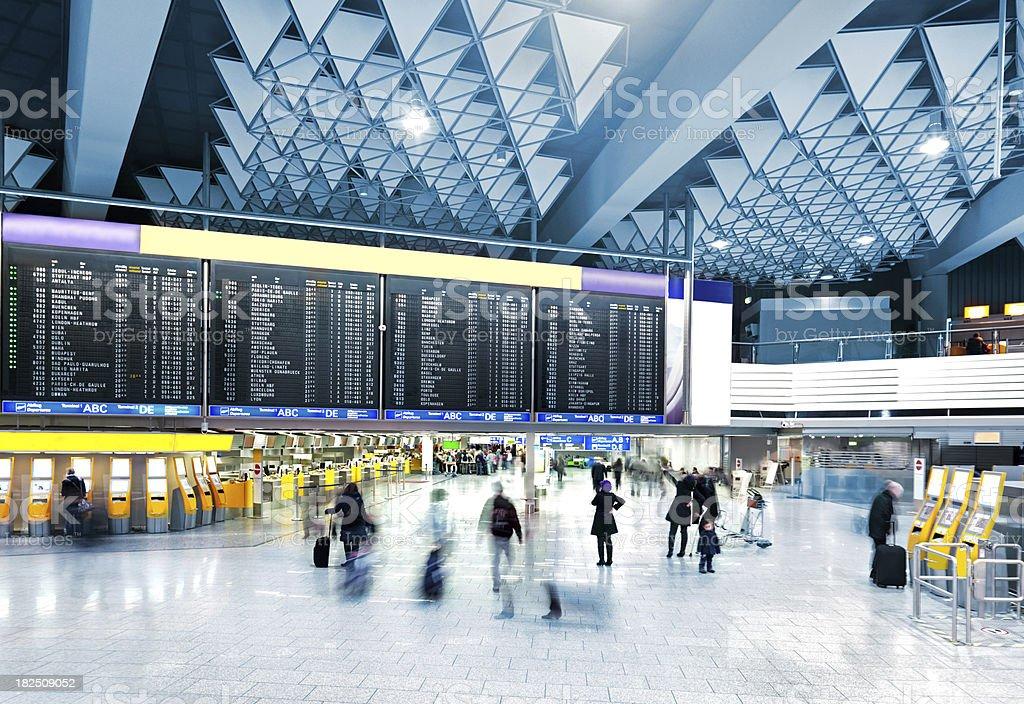 Современный Аэропорт стоковое фото