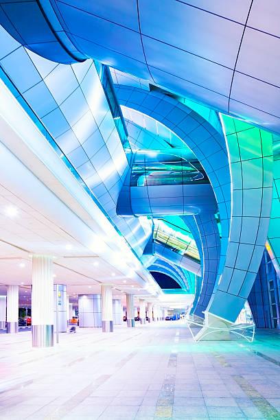 Aeroporto di moderno - foto stock