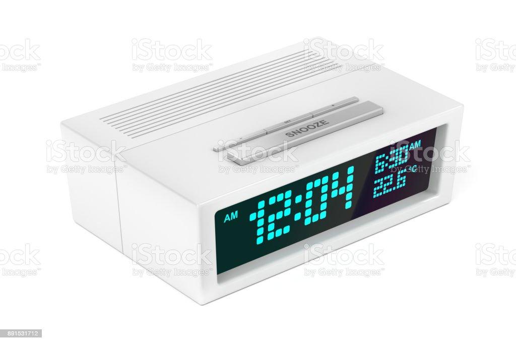 Moderner Wecker alarm clock digital bilder und stockfotos istock