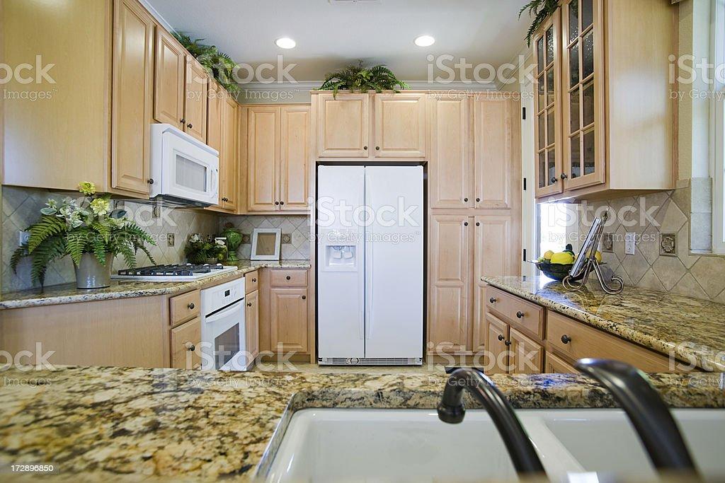 Modern Alder Kitchen royalty-free stock photo