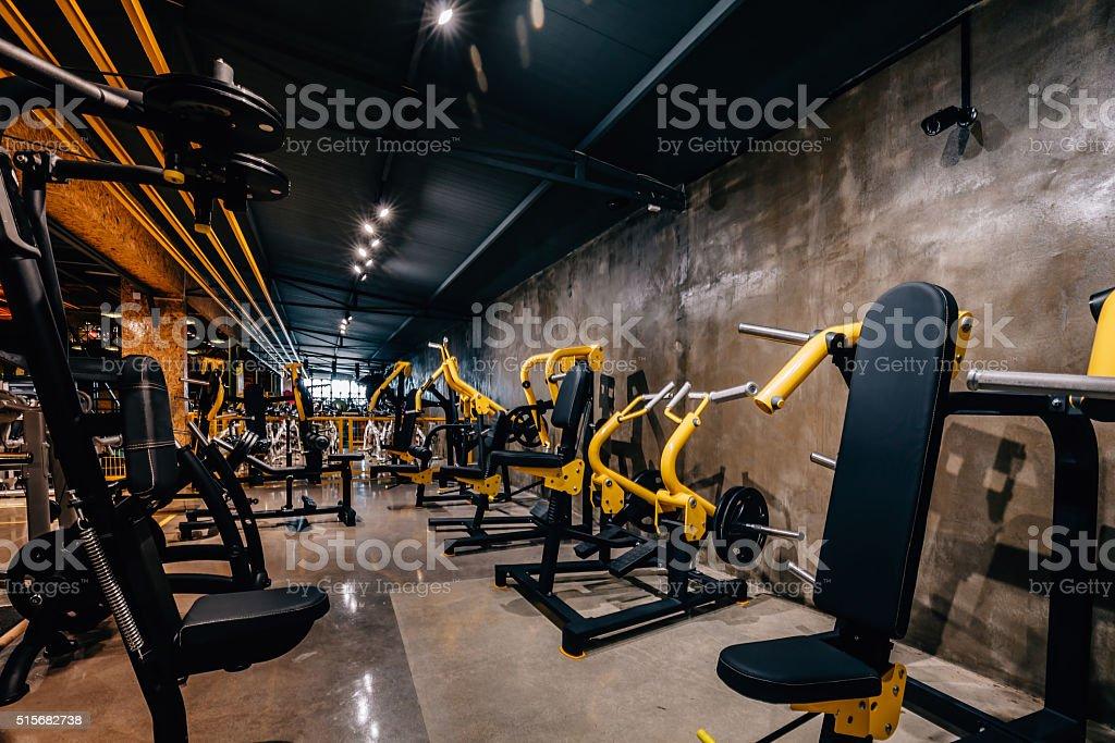 Moderne Et Une Grande Salle De Sport – Photos et plus d\'images de ...