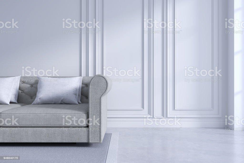 Photo libre de droit de Concept De Salon Moderne Et Classique Design ...