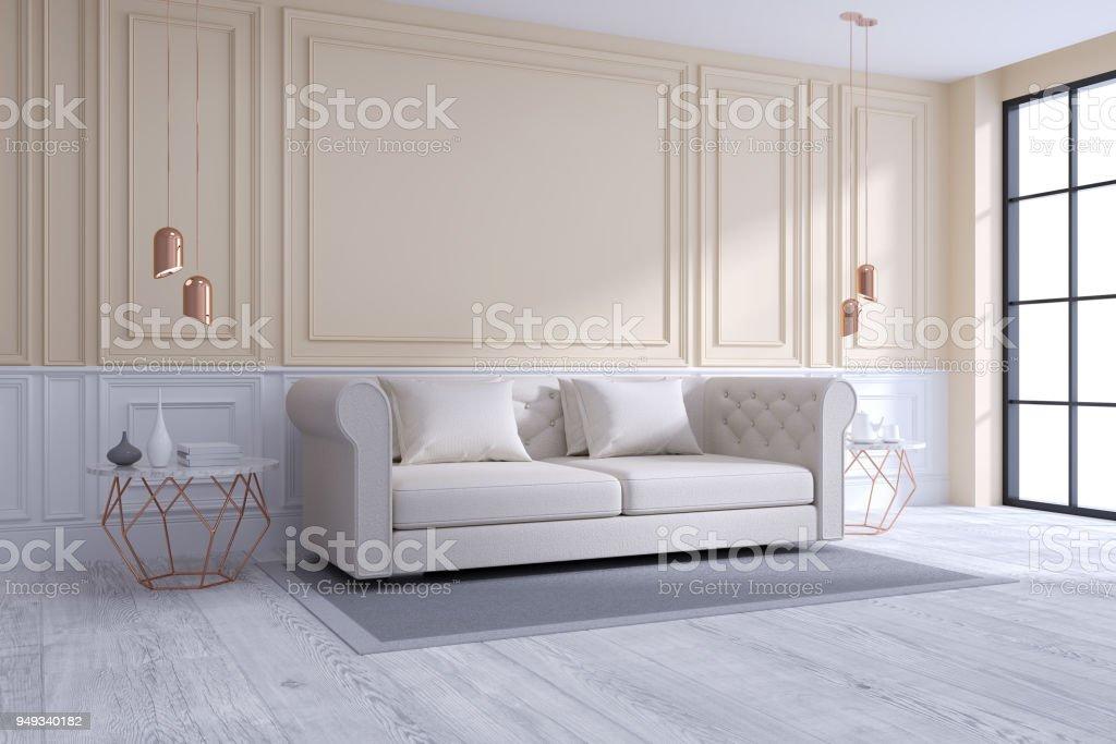 Photo libre de droit de Concept De Salon Moderne Et ...