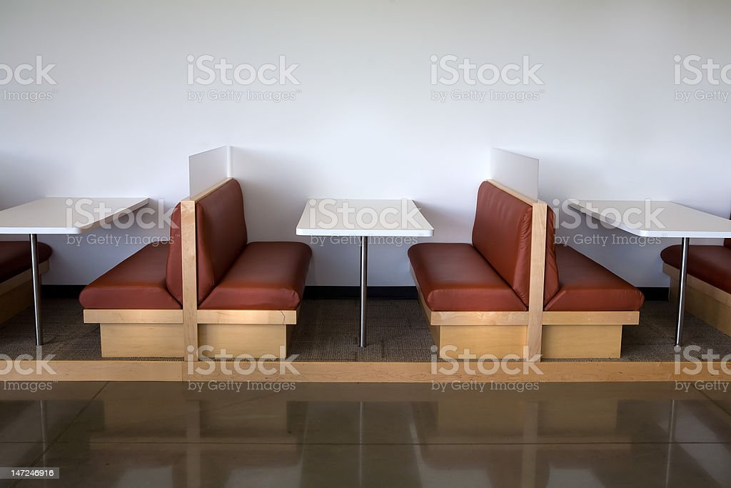 Modern And Clean Office Cafeteria Table Booth stock photo | iStock