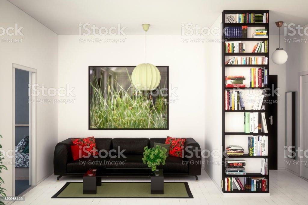 Modern Gezellig Interieur : Modern en gezellig interieur stockfoto en meer beelden van