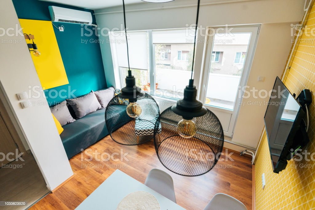Awesome Modern And Cozy Studio Apartment With Modern Simple Sofa Bed Gmtry Best Dining Table And Chair Ideas Images Gmtryco