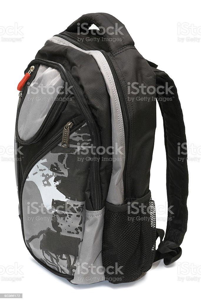Modern and fashionable backpack royalty-free stock photo