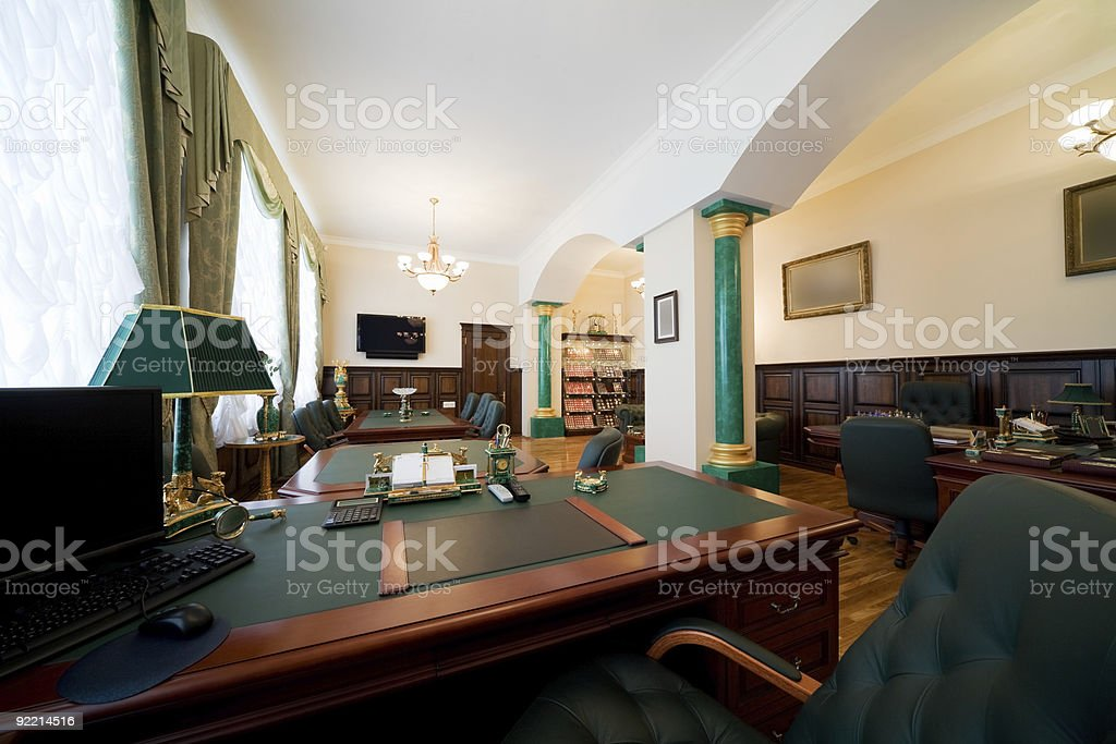 Modern and luxury office stock photo