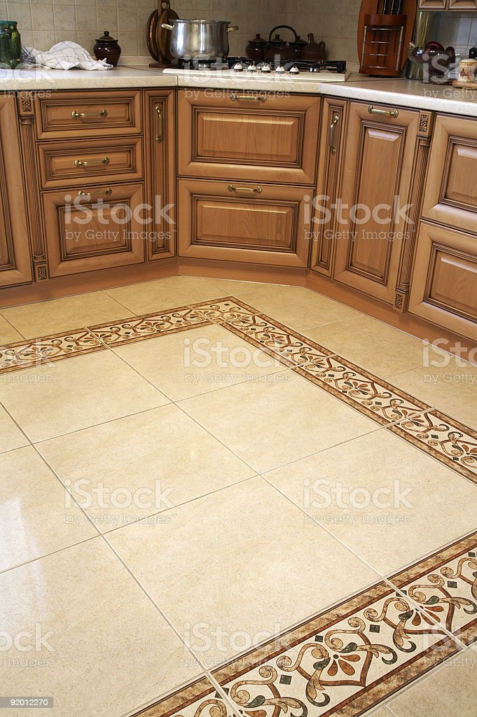 modern and new kitchen royalty-free stock photo