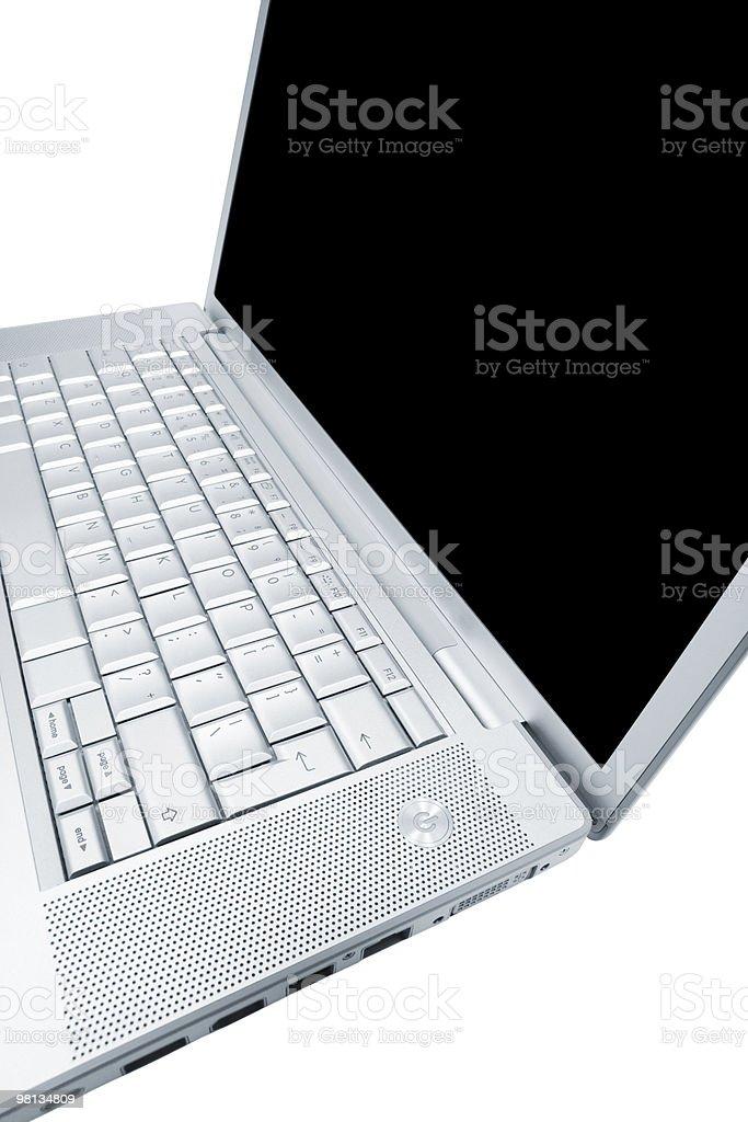 Modern and stylish laptop royalty-free stock photo