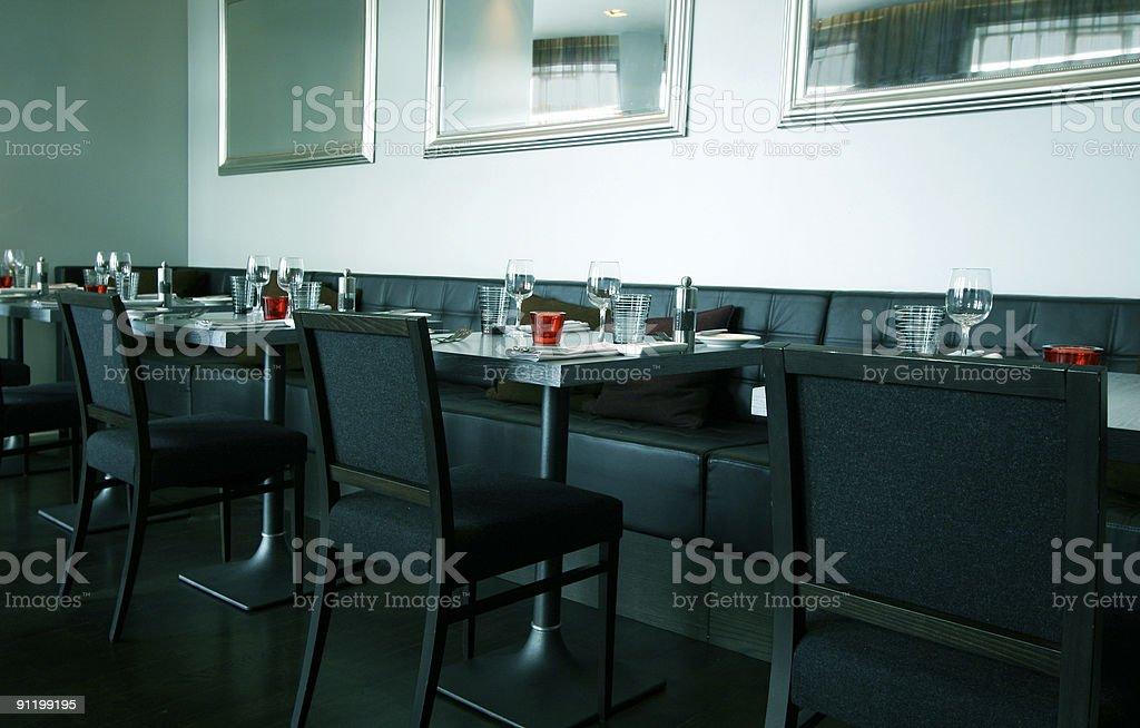 Modern and stylish restaurant royalty-free stock photo