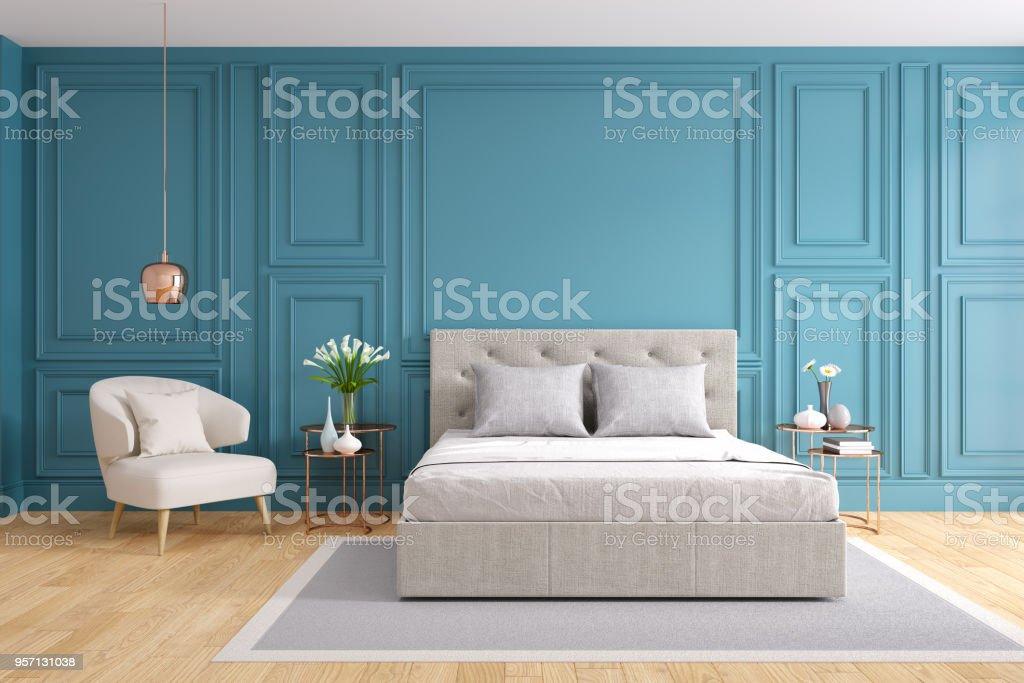 Photo de stock de Design Chambre À Coucher Moderne Et Vintage ...