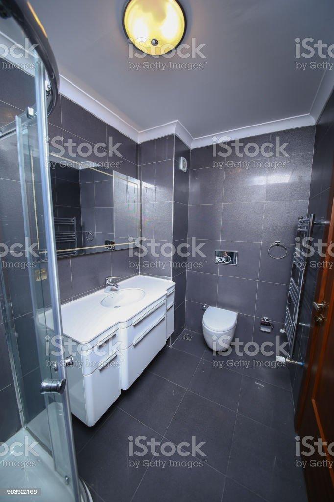 Modern apartment bathroom - Royalty-free Apartment Stock Photo
