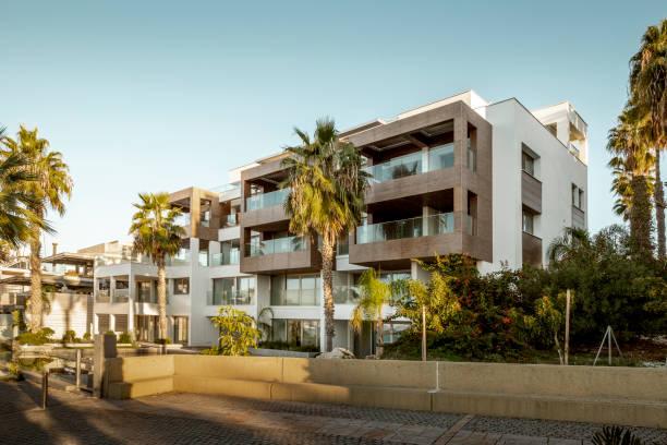 Modernes Apartmenthaus in Paphos, Zypern – Foto