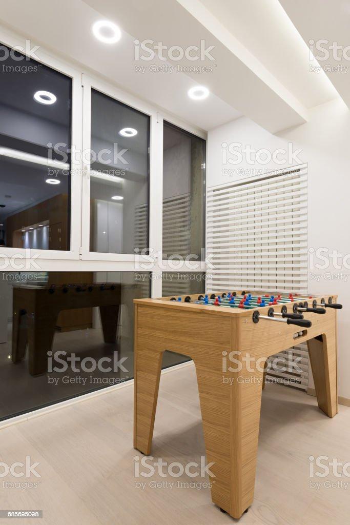 モダンなアパートメントのインテリア ロイヤリティフリーストックフォト
