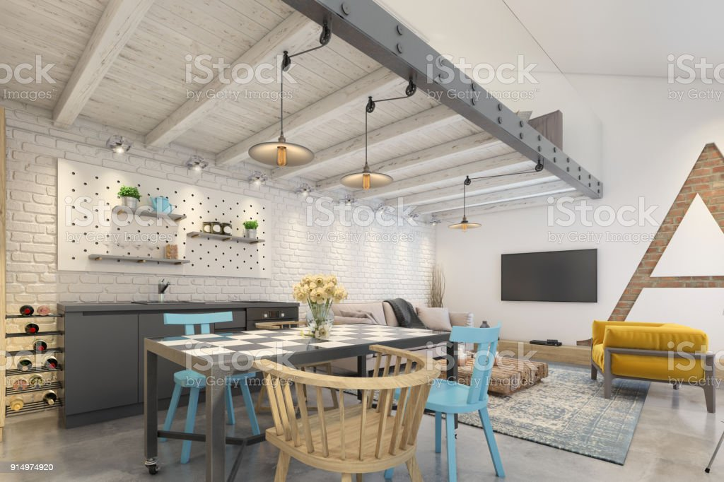 Modern apartment interior royalty free stock photo only from istock