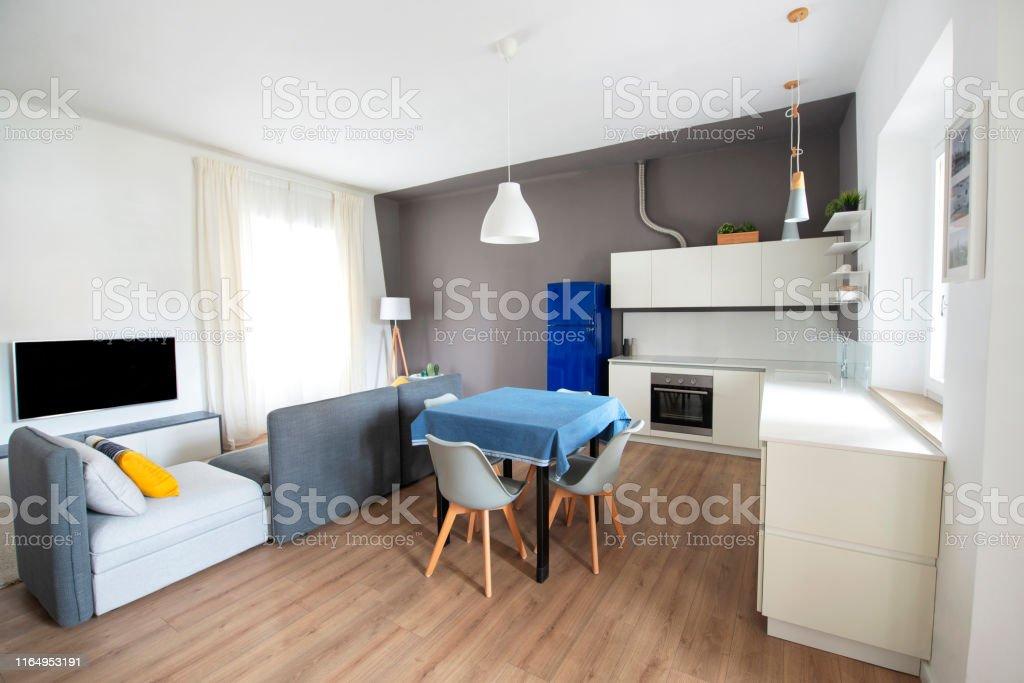Photo libre de droit de Appartement Moderne Espace Ouvert ...