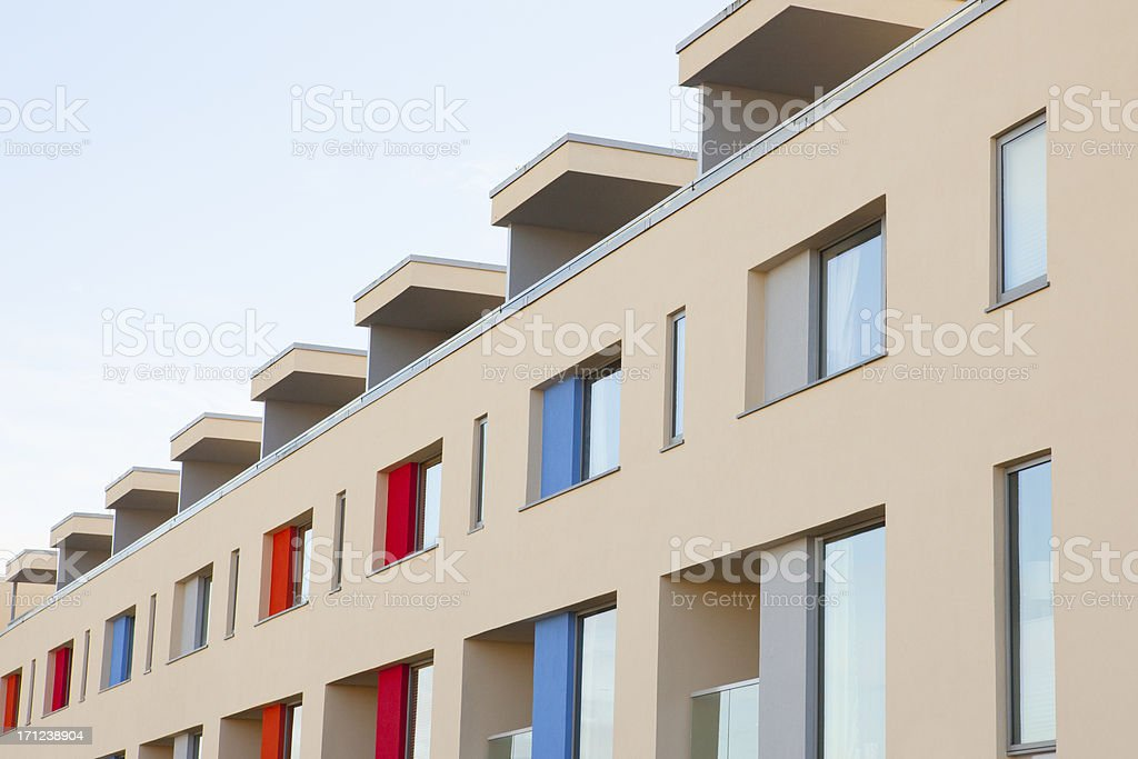 Modern Apartments, Bristol UK royalty-free stock photo