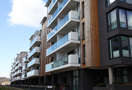 Modern Apartments In Bristol Stock Photo - Download Image ...
