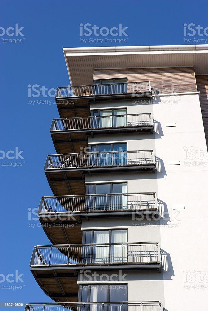 Modern Apartments royalty-free stock photo