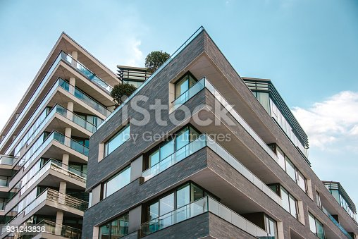 istock Modern apartments 931243836