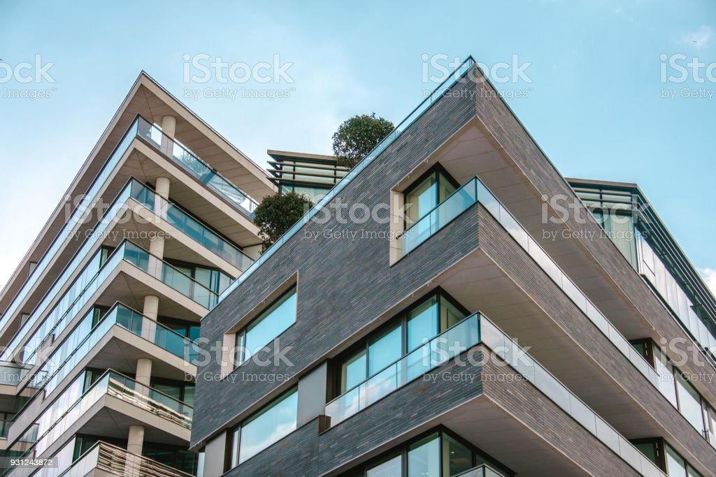 Modern apartments - foto stock