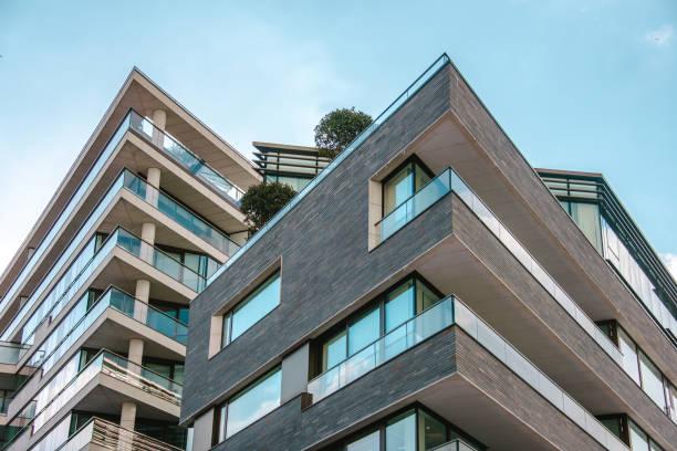 moderne apartments - neue wohnung stock-fotos und bilder
