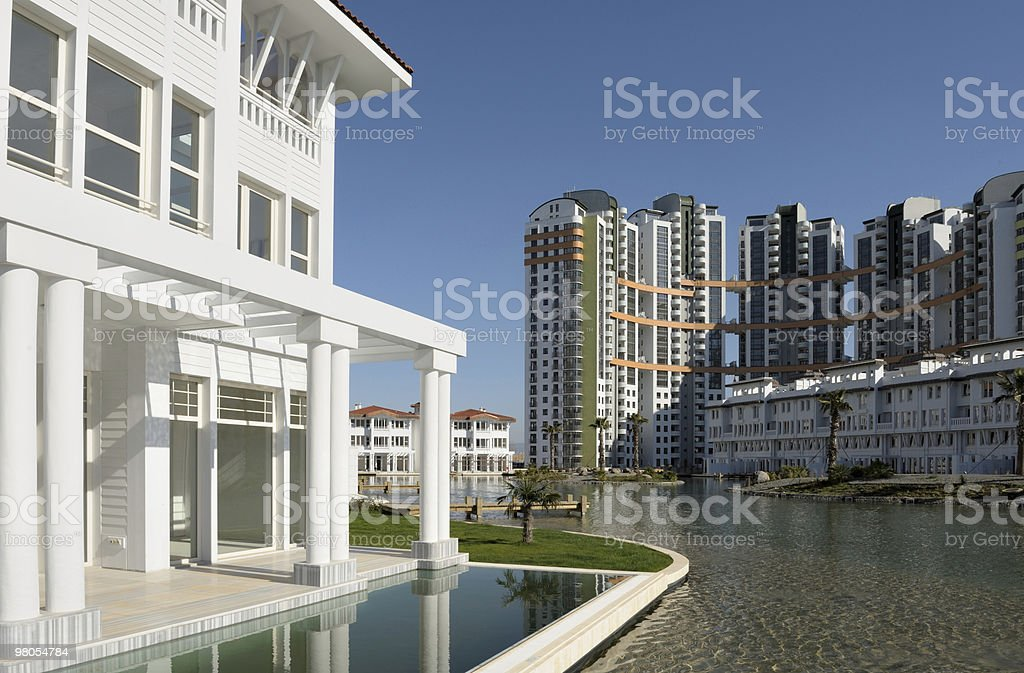 Appartamenti moderni foto stock royalty-free