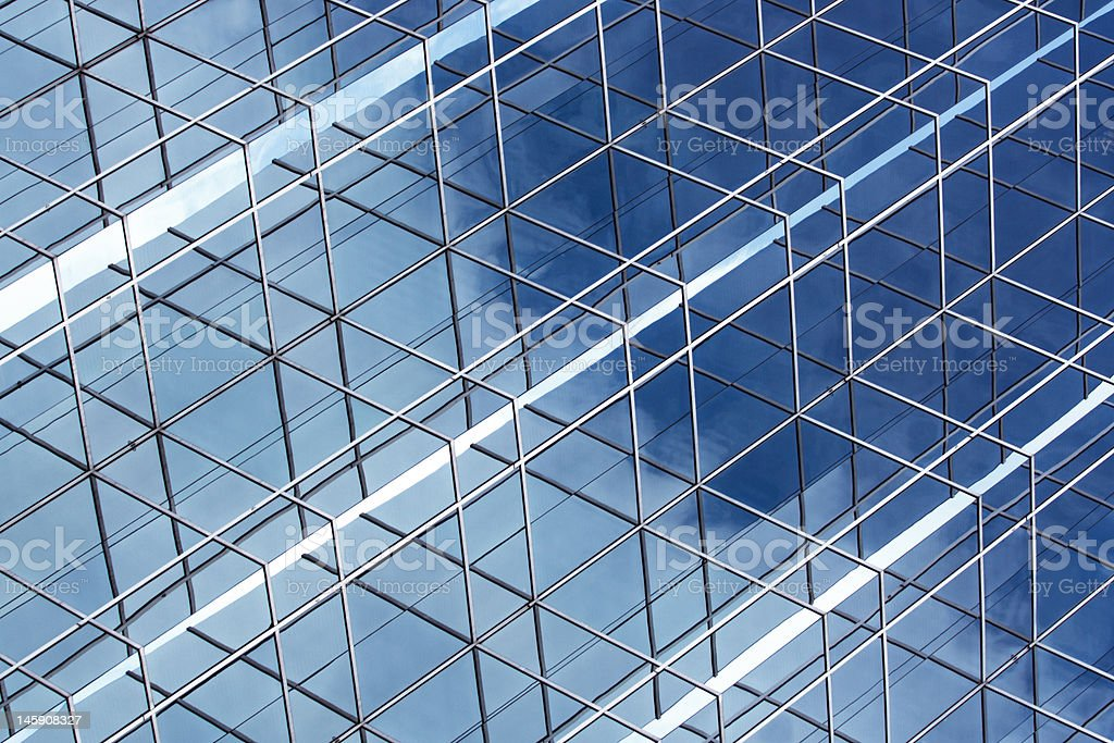 Modern Architectural Background stock photo