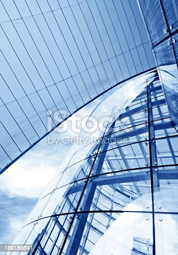 istock Modern architectural design 186189841