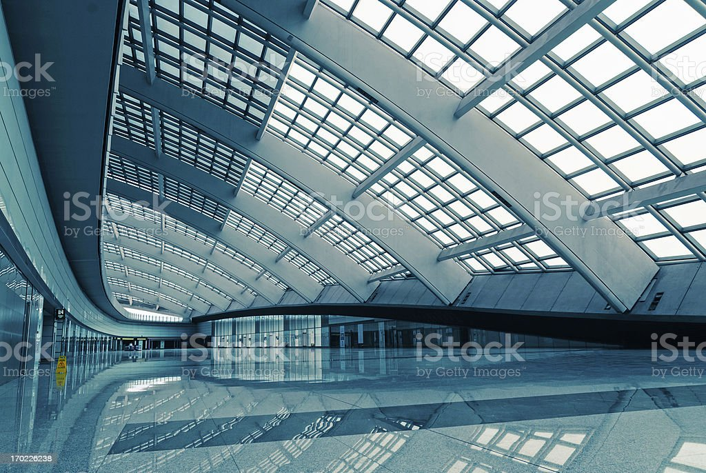 modern architectural details royalty-free stock photo