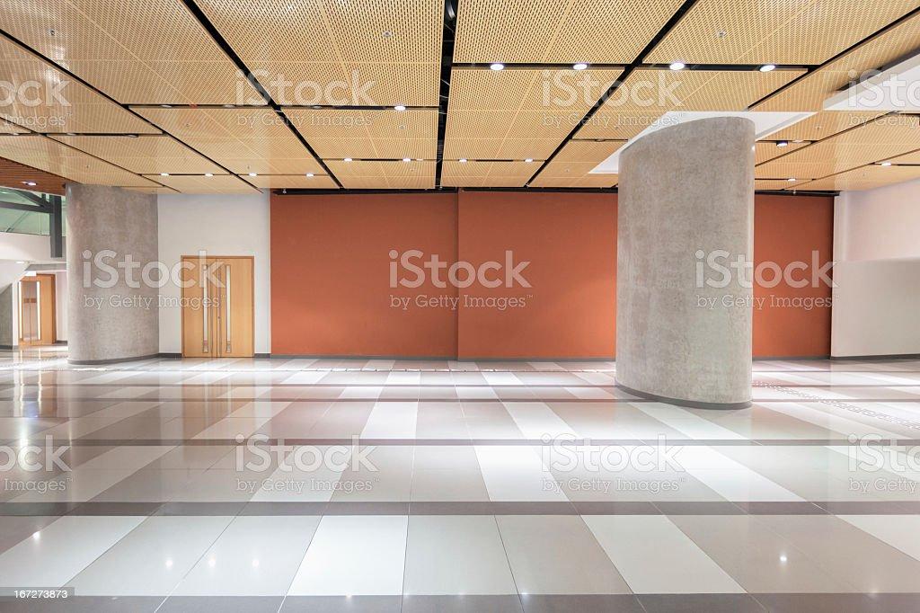 Modern Architectural Interior: Lobby stock photo