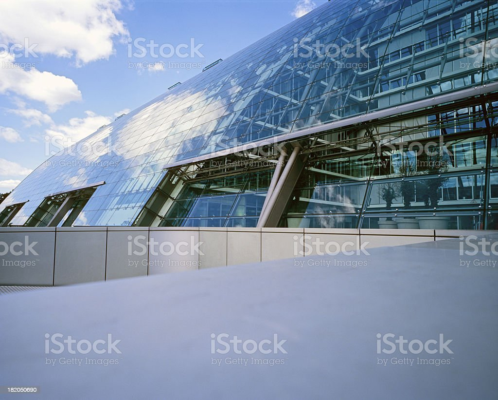 modern architecture 9 royalty-free stock photo