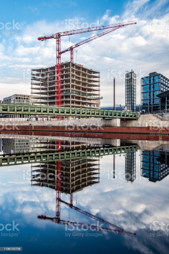 A series of photos taken at Spree River in Berlin around Kapelle Ufer...