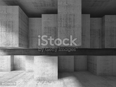 istock Modern architecture background, 3d illustration 512750078