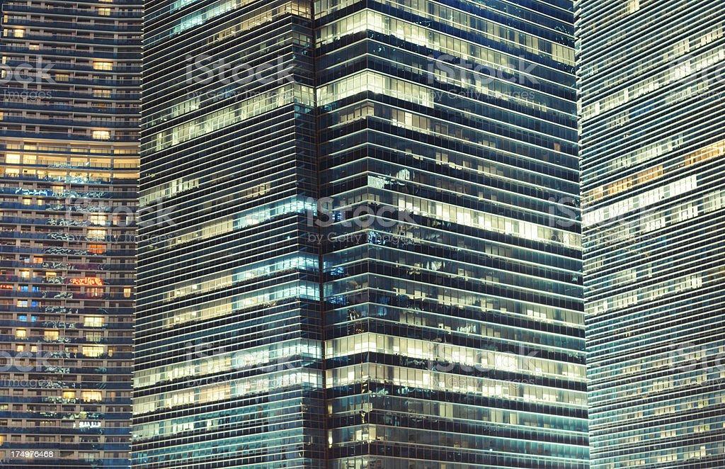 Arquitetura moderna de fundo - foto de acervo